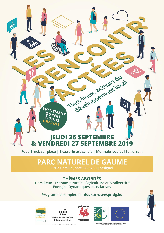 Les Rencontr'actées | Tiers-lieux, acteurs du développement local @ Maison du Parc naturel de Gaume