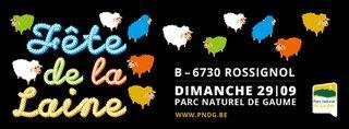 Fête de la laine – 29 septembre 2019 à Rossignol  - Tout public - Entrée gratuite @ Maison du Parc naturel de Gaume